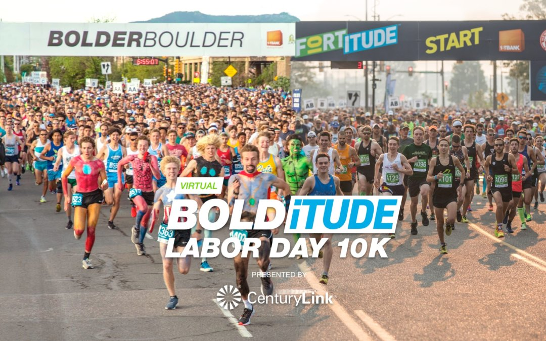 CenturyLink Supports the Virtual BOLDiTUDE Labor Day 10K Race as Presenting Sponsor
